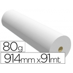 Papel reprografia Plotter Navigator 80 g/m2, medidas 914 mm x 91 m