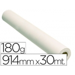Fabrisa 79103018GB - Papel fotográfico brillo para plotter, 914 mm x 30 mt, 180 gramos