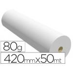 Papel reprografia opaco para plotter mppc bobina 420mm x 50mt 80 gramos