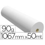 Papel reprografia para Plotter Navigator 90 g/m2, medidas 1067 mm x 50 m