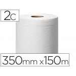 Papel secamanos central 2 capas 150,2 mt s para dispensador m2 rollos
