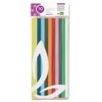 Liderpapel SE02 - Papel seda, tamaño 52x76 cm, 18 gr/m2, colores surtidos, bolsa de 10 hojas