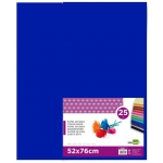 Papel seda Liderpapel color azul 52x76 cm 18 gr paquete de 25 hojas
