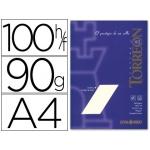 Papel torreon color ahuesado tamaño A4 90 grs paquete de 100