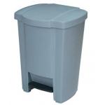 Papelera contenedor Q-Connect plástico con tapadera y pedal 18l 440x325x250 mm