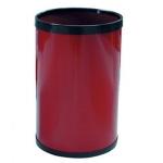 Papelera metálica 104 color roja 32.5x21.5 cm