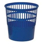 Papelera plástico 119 color azul medida 27.5x27.5 cm