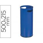 Paragüero metálico 306 color azul medida 50x21.5 cm