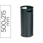 Paragüero metálico 306 color negro medida 50x21.5 cm