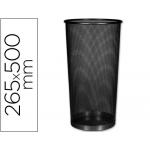 Paragüero metálico Q-Connect rejilla color negro 265 diámetro de x 500 mm