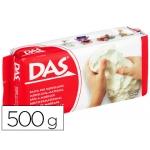 Pasta Das color blanca para modelar seca sin coccion 500 gr