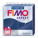 Pasta Staedtler fimo effect 56 gr metálico color azul zafiro