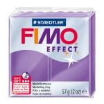 Pasta Staedtler fimo effect 56 gr purpura translúcido