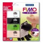 Pasta Staedtler fimo set de iniciación kfk farm animals incluye 4 pastillas + instrucciones detalladas