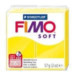 Staedtler Fimo Soft 8020-10 - Pasta para modelar, 57 gramos, color amarillo limón