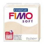 Staedtler Fimo Soft 8020-70 - Pasta para modelar, 57 gramos, color tierra