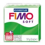 Staedtler Fimo Soft 8020-53 - Pasta para modelar, 57 gramos, color verde tropical