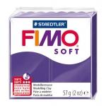 Staedtler Fimo Soft 8020-63 - Pasta para modelar, 57 gramos, color violeta oscuro