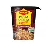 Pasta oriental Maggi cup terne ra racion individual calentar en microondas y listo 61g