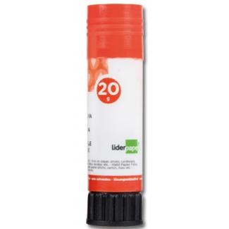 Liderpapel PE02 - Pegamento en barra, 20 gr