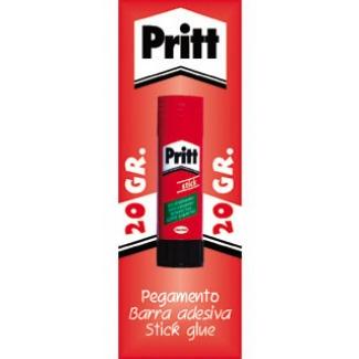 Pritt 20GR-1 - Pegamento en barra, en blíster, 20 gr