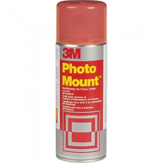 3M Spray photo mount - Pegamento de spray, permanente, 400 ml