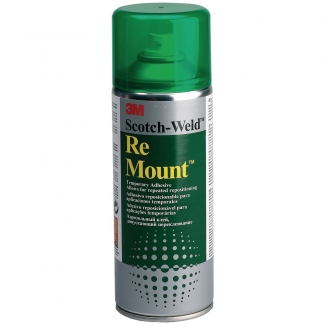 Scotch Spray remount - Pegamento de spray, reposicionable indefinidamente, 400 ml