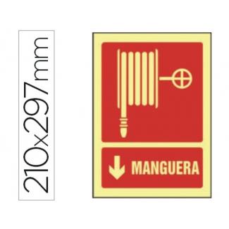 Opina sobre Syssa 6028F - Señal de manguera, pvc fotoluminiscente, medida 297 mm x 210 mm