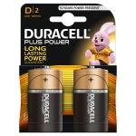 Duracell Plus Power S0560220 - Pila alcalina, D (LR20), blíster con 2 pilas