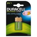 Pila Duracell recargable 9v blister de 1