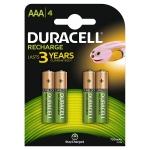 Duracell Recharge Plus 81364750 - Pila recargable, AAA (LR03), blíster con 4 pilas