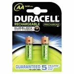 Pila Duracell recargable staycharged aa mah blister de 2 unidades