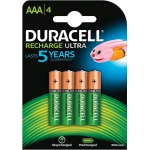 Pila Duracell recargable staycharged aaa 800 mah blister de 4 unidades
