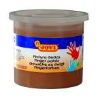 Pintura a dedos Jovi 125 cc color marron