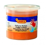 Jovi 56006 - Pintura a dedos, color naranja, bote de 125 cc
