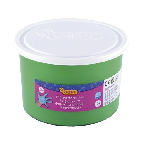 Pintura a dedos jovi 500 cc color verde papeler a distrimar for Pintura verde agua