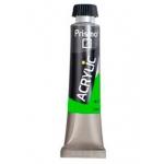 Pintura acrilica Prismo color verde permanente 339 tubo de 20ml