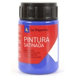 La Pajarita L-11 - Pintura satinada, color azul ultramar, bote de 35 ml