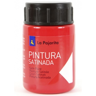 Pintura latex la pajarita color bermellón 35 ml