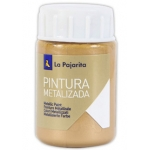 Pintura metalizada la pajarita color oro ducado 35 ml