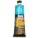 Pintura oleo Pallio color azul cyan 400 tubo de 20 ml