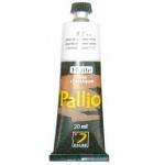 Pintura oleo Pallio color blanco titan 018 tubo de 20 ml