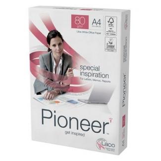 Papel A4 80gr Pioneer paquete de 500 hojas