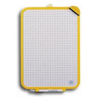 Pizarra blanca 24x33 cm rotulador y borrador