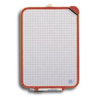 Pizarra blanca 32x44 cm rotulador y borrador