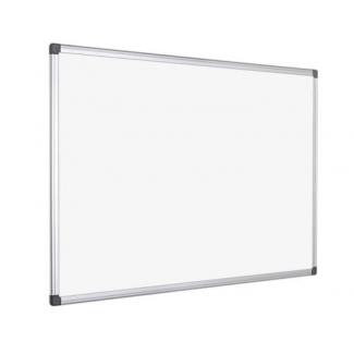 Pizarra blanca Q-Connect lacada magnética marco de aluminio 150x100 cm