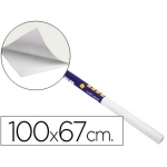 Pizarra color Blanca clipper rollo de 100x67 cm