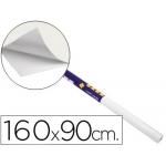 Pizarra color Blanca clipper rollo de 160x90 cm