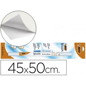 Pizarra color Blanca velleda rollo de 45x50 cm + rotulador