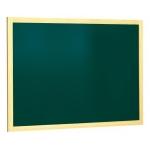 Pizarra verde Q-Connect marco de madera 90x60 sin repisa